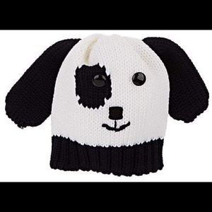 NWT Catya Knit Dog Face Wool Hat with Ears